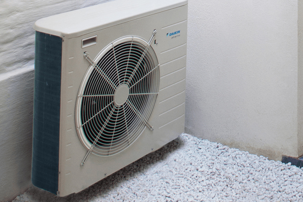A fine example of a air source heat pump