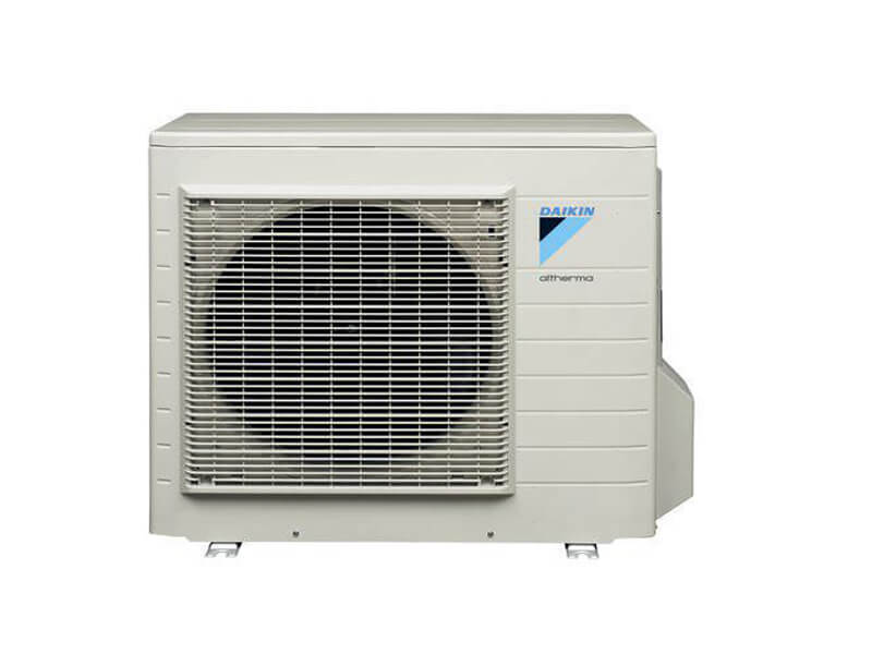 The standard Daikin Air Source Heat Pump