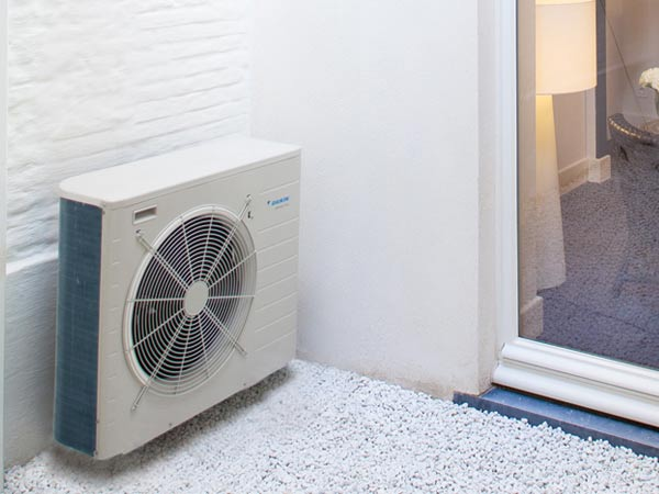 A Daikin Altherma in action