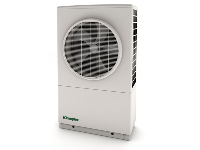 example of Dimplex air source heat pump