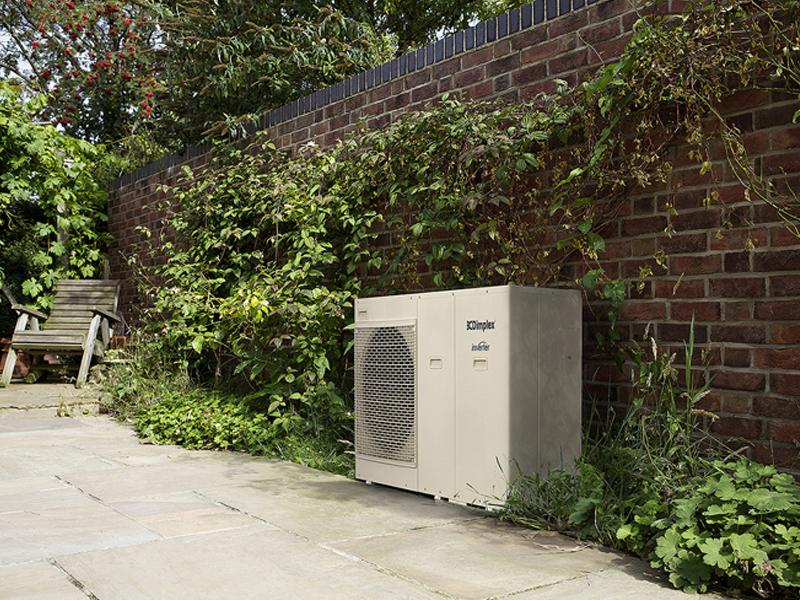 Outdoor Dimplex Ground Source Heat Pump