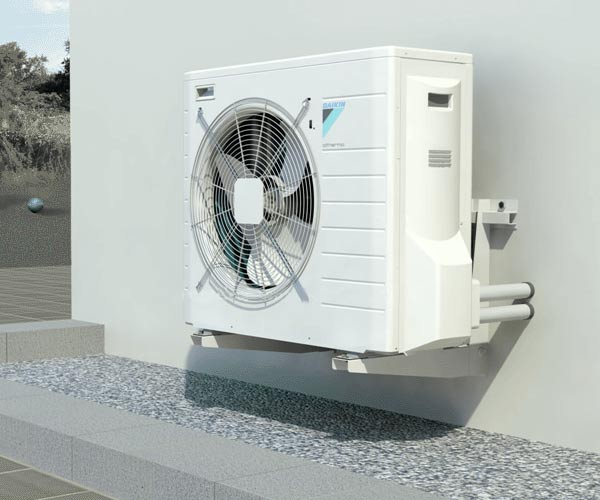 heat pump white