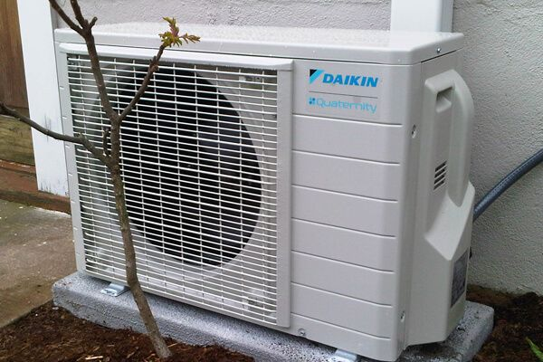 daikin heat pump blue