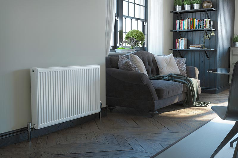 stelrad radiator living room